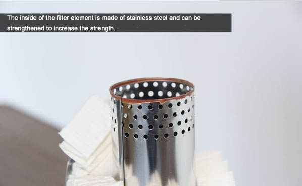 Disassemble the filter and explore the structure of the filter