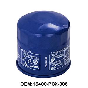 Oil filter transmission filter 15400-PCX-306 engine parts diesel engine oil filter
