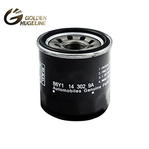 Auto oil filter manufacturer in china B6Y1-14302-9A B6Y1143029A oil filter for cars