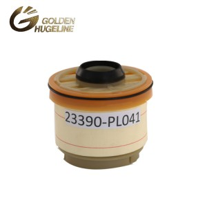 Hot sales spare parts engine fuel filter for OEM  23390-0L040