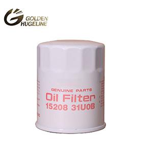 Wholesale price iron oil filters 15208-31U01-T1 15208-31U08 15208-31U0A 15208-31U0B auto oil filter car filter for sale