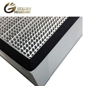 Aluminiozko Frame Deep pleat HEPA Box Air Filter