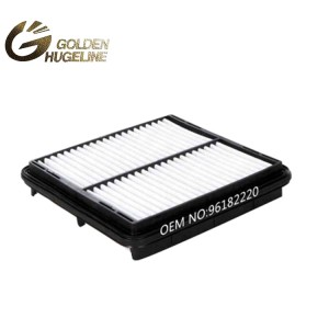 96182220 High quality Automotive Air Filter For Compress air filter replacement in China OE No. 96182220