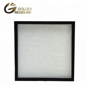Aluminum Alloy Frame External Frame Activated Carbon Paper Industrial Air Filter