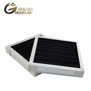 Aluminum alloy frame external frame PP HONEYCOMB Activated carbon Industrial air filter
