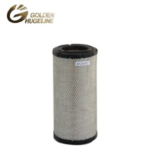 Auto air filters size round air filter AF25557 heavy truck air filter