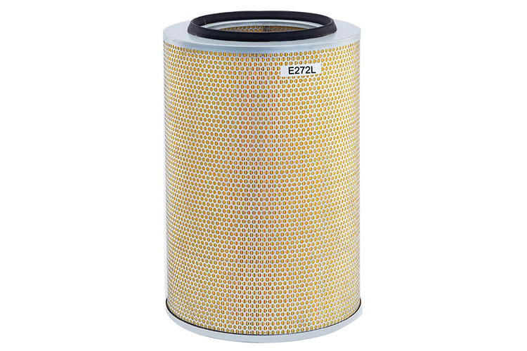 Construction machinery air filter maintenance and use