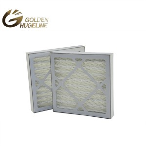 High Quality G1-G4 Pre-Filtration Paper Washable G1 Industrial Box Type Air Filter