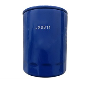 China Manufacturer OEM JX0811a Car Light Truck Paper Lube Spin-on oil filter jx0811 for truck