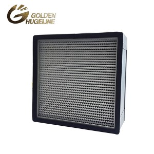 Ál Frame Deep Pleat HEPA Box Air Filter
